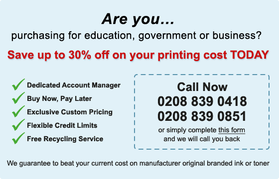 Save up to 30% off on your printing cost TODAY