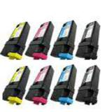 999inks Compatible Multipack Xerox 106R01452-55 2 Full Sets Laser Toner Cartridges