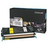 Lexmark C5242YH Yellow Original High Capacity Toner Cartridge