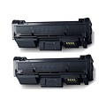 Compatible Twin Pack Samsung MLT-D116L Black Laser Toner Cartridges