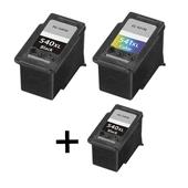999inks Compatible Multipack Canon PG-540XL and CL-541XL 1 Full Set + 1 Extra Black Inkjet Printer Cartridges