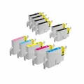 999inks Compatible Multipack Epson T0341/48 2 Full Sets + 2 FREE Black Inkjet Printer Cartridges