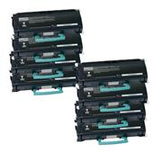 Compatible Eight Pack Lexmark X463X11G Black Extra High Capacity Laser Toner Cartridges