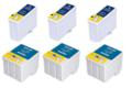 Compatible Multipack Epson S189/S191 3 Full Sets Inkjet Printer Cartridges