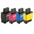 Compatible Multipack Brother LC900 Full Set Inkjet Printer Cartridges