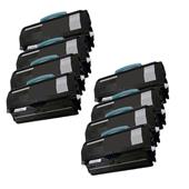 Compatible Eight Pack Lexmark 0X264H11G Black High Capacity Laser Toner Cartridges