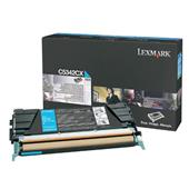 Lexmark C5342CX Cyan Original Extra High Capacity Return Program Toner Cartridge