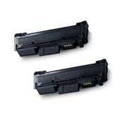 Compatible Twin Pack Samsung MLT-D116S Black Laser Toner Cartridges