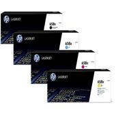 HP 658X Full Set Orignal High Capacity Laser Toner Cartridges