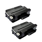 Compatible Twin Pack Xerox 106R02307 Black High Capacity Laser Toner Cartridges
