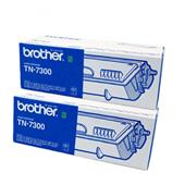 Brother TN7300 Black Original Laser Toner Cartridge Twin Pack