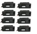 Compatible Eight Pack HP 27A Laser Toner Cartridges