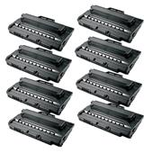 Compatible Eight Pack Samsung SCX-4720D5 Black Laser Toner Cartridges