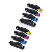 Compatible Multipack Kyocera TK-8505K/Y 2 Full Sets Laser Toner Cartridges
