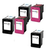 999inks Compatible Multipack HP 304XL 2 Full Sets + 1 Extra Black Inkjet Printer Cartridges