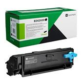 Lexmark B342X00 Black Original Extra High Capacity Return Program Toner Cartridge
