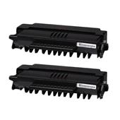 999inks Compatible Twin Pack OKI 09004391 Black High Capacity Laser Toner Cartridges