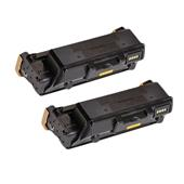 Compatible Twin Pack Xerox 106R03620 Black Standard Capacity Laser Toner Cartridges