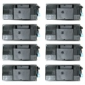 Compatible Eight Pack Kyocera TK-3130 Black Laser Toner Cartridges