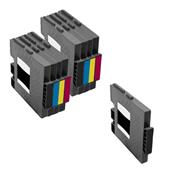 999inks Compatible Multipack Ricoh 405688/91 2 Full Sets + 1 Extra Black Inkjet Printer Cartridges