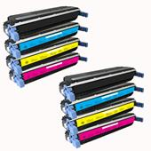 999inks Compatible Multipack HP 645A 2 Full Set Laser Toner Cartridges