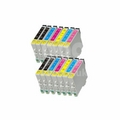 999inks Compatible Multipack Epson T5591/96 2 Full Sets + 2 FREE Black Inkjet Printer Cartridges