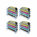 Compatible Multipack HP 643A 4 Full Sets Laser Toner Cartridges