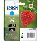 Epson 29 (T29824010) Cyan Original Claria Home Standard Capacity Ink Cartridge (Strawberry)