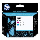 HP 72 Magenta and Cyan Original Printhead (C9383A)