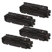 999inks Compatible Multipack Canon 054BK/Y 1 Full Set Standard Capacity Laser Toner Cartridges
