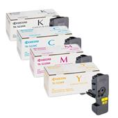 Kyocera TK-5220 Full Set Original Standard Capacity Laser Toner Cartridges