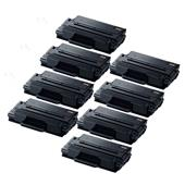999inks Compatible Eight Pack Samsung MLT-D203L Black Laser Toner Cartridges