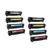 999inks Compatible Multipack HP 201A 2 Full Sets Standard Capacity Laser Toner Cartridges