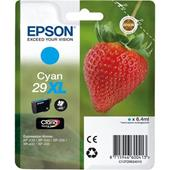 Epson 29XL (T29924010) Cyan  Original Claria Home High Capacity Ink Cartridge (Strawberry)