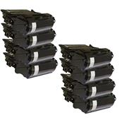 999inks Compatible Eight Pack Dell 593-11050 Black High Capacity Laser Toner Cartridges