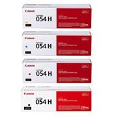 Canon 054 Full Set Original High Capacity Laser Toner Cartridges