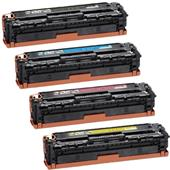 Compatible Multipack Canon 731BK/C/M/Y 1 Full Set Standard Capacity Laser Toner Cartridges