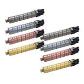 999inks Compatible Multipack Ricoh 841124/27 2 Full Sets Laser Toner Cartridges