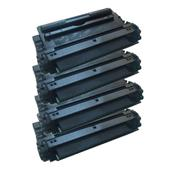 999inks Compatible Quad Pack HP 16A Laser Toner Cartridges