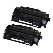 999inks Compatible Twin Pack HP 80X Black Laser Toner Cartridges
