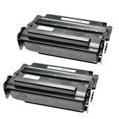 999inks Compatible Twin Pack Lexmark 12A3715 Black Laser Toner Cartridges