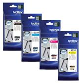 Brother LC3237BK/Y Full Set Original Standard Capacity Inkjet Printer Cartridges
