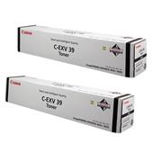 Canon 4792B002AA Black Original Laser Toner Cartridge Twin Back