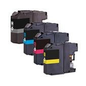Compatible Multipack Brother LC123 Full Set Inkjet Printer Cartridges