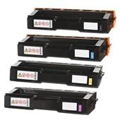 999inks Compatible Multipack Ricoh 407543/46 1 Full Set Laser Toner Cartridges