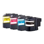 Compatible Multipack Brother LC22UXL 1 Full Set Inkjet Printer Cartridges