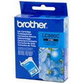 Brother LC800C Cyan Original Printer Ink Cartridge (LC-800C)