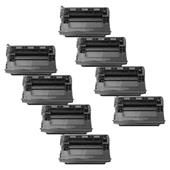 999inks Compatible Eight Pack HP 37X Black High Capacity Laser Toner Cartridges