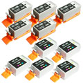999inks Compatible Five pack Canon BCI-15K and BCI-16C 5 Full Sets Inkjet Printer Cartridges
