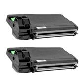 999inks Compatible Twin Pack Ricoh 407340 Black High Capacity Laser Toner Cartridges